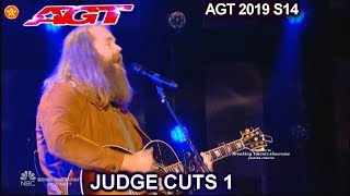 "Chris Kläfford  original song ""Something Like Me"" AWESOME | America's Got Talent 2019 Judge Cuts"