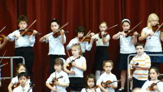 P.S. 200 violin concert May 27 2011 We Are The World