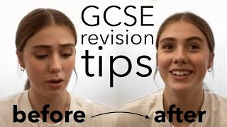 GCSE revision advice (when to start, resources, etc.)
