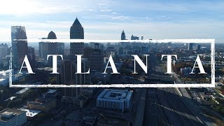 Atlanta Georgia Drone Video 4K