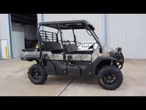 2016 Kawasaki Mule Pro-FXT EPS Camo in La Marque, Texas - Video 1