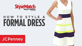 How To Wear A Formal Dress For A Wedding Or Summer Event | JCPenney