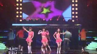 Jewelry - Everybody, hush (쥬얼리-모두다쉿) @SBS Inkigayo 인기가요 20080601