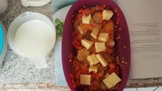 Schnelle Quiche im Omelett-Meister