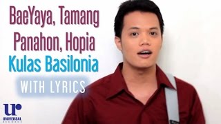 Kulas Basilonia - BaeYaya, Tamang Panahon, Hopia (ALDub Non-Stop) - (ALDub Non-Stop Video)