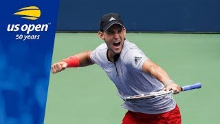 Dominic Thiem Earns a Trip to His First US Open QFs With Win over Kevin Anderson