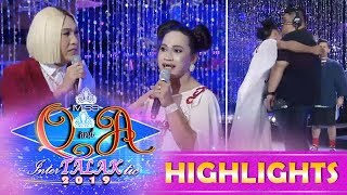 It's Showtime Miss Q & A: Vice Gives Miss Q & A Candidate A Challenge