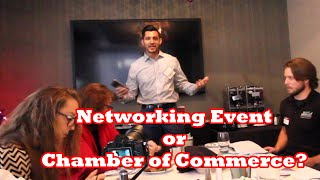 Should you Join a Networking Group or Chamber of Commerce