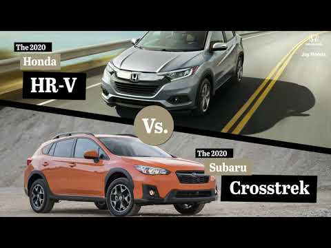 2020 Honda HR-V vs. 2020 Subaru Crosstrek