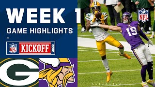Packers vs. Vikings Week 1 Highlights | NFL 2020
