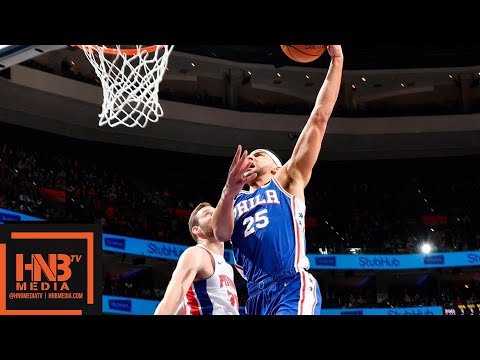 Philadelphia Sixers vs Detroit Pistons Full Game Highlights | 12.10.2018, NBA Season