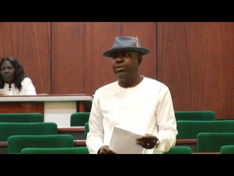 Hon Victor Akinjo,22 May 2019   Motion on need  for intervention on oil field fire in Ilaje jointly