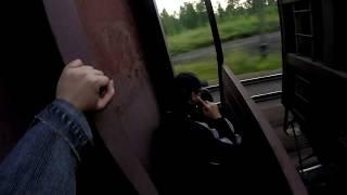 На грузовых поездах на Байкал (ч.1) Трейнхоп на товарных поездах через Россию по Транссибу на Восток