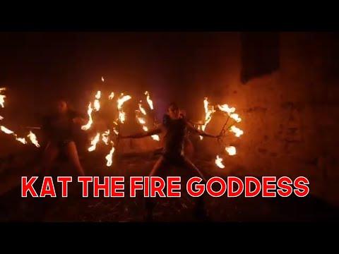 Kat the Fire Goddess Video