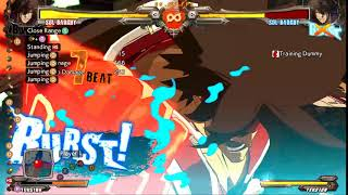 How to use Burst in Guilty Gear XRD