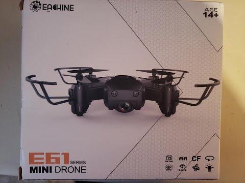 Eachine E61 Mini RC Drone Quadcopter RTF with Three Batteries
