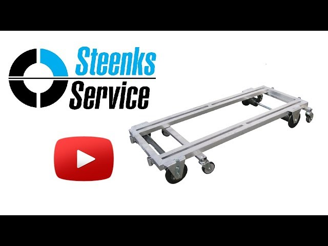 YouTube video | Transport trolley aluminum 187 cm.