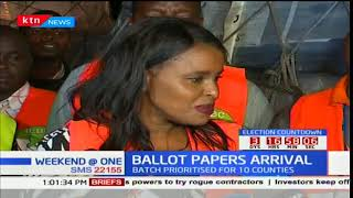Presidential ballot papers for fresh polls touch down at JKIA
