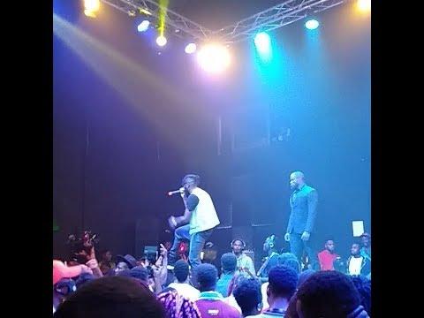 DREMO, DAVIDO, SIMI, MI and DMW shut down CodeName Live (Dremo's concert)