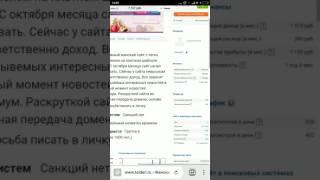 Обзор лота на бирже сайтов телдери, женская тематика за 10 тыс. руб.