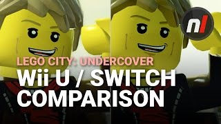 LEGO City: Undercover Nintendo Switch / Wii U Graphical Comparison
