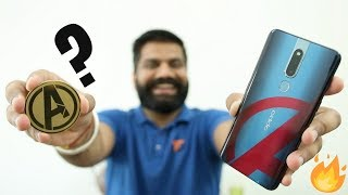 Oppo F11 Pro Avengers Limited Edition Unboxing & First Look 🔥🔥🔥
