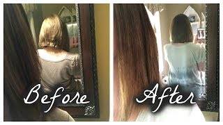 HOW TO FIX A CHOPPY HAIRCUT/ENDS/LAYERS