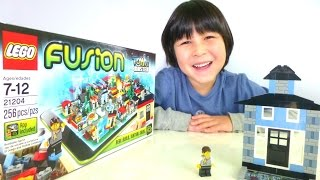 LEGO FUSION MASTER TOWN How it works? Instruction Step by Step Walkthrough Tips and ideas
