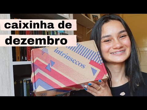 UNBOXING DO CLUBE INSTRINSECOS (dezembro/2020) ? || Amid Books