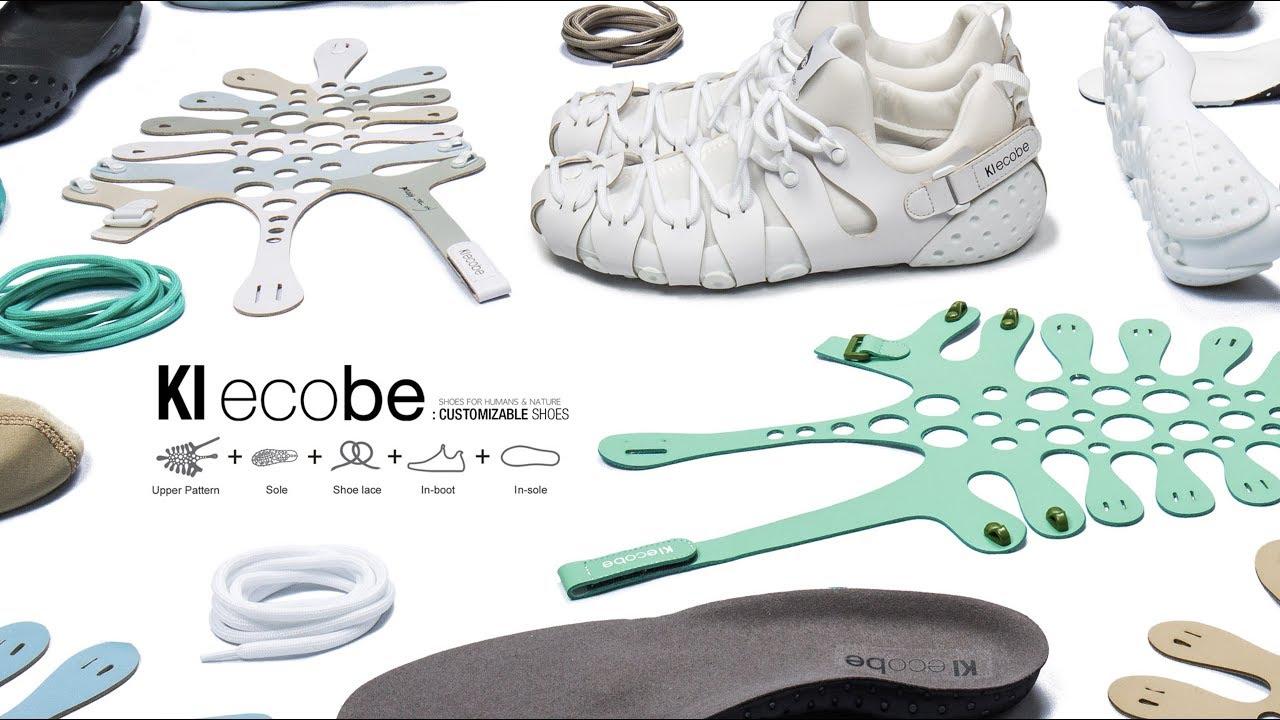 KI Ecobe customized shoe