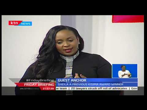 Friday Briefing: Guest Anchor: Sheila Mwanyigha 20/1/2017 Part 1
