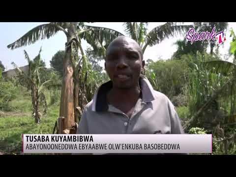 Enkuba esanyizzawo ebintu by'abantu e Mityana