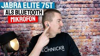 Jabra Elite 75t als Bluetooth Mikrofon für Zoom oder Skype Videokonferenz nutzen
