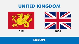 Oldest Flag Vs New Flag Of Every Country
