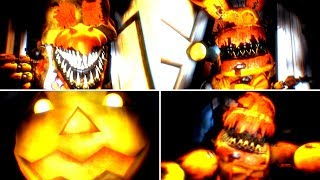 [SFM] FNaF 4 Jack-O Animatronic jumpscares