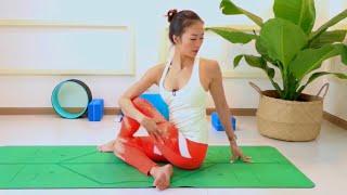 Yoga BUỔI SÁNG cùng Sophie ♡ Bài 5 – THẢI ĐỘC & GIÃN CƠ 30 phút ♡ Yoga By Sophie