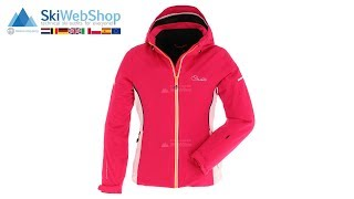 Dare2b, Contrive, ski jacket, women, fusion pink/burst orange/white
