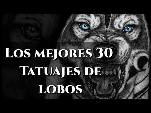 30 Tatuajes de Lobos | Mejores Diseños