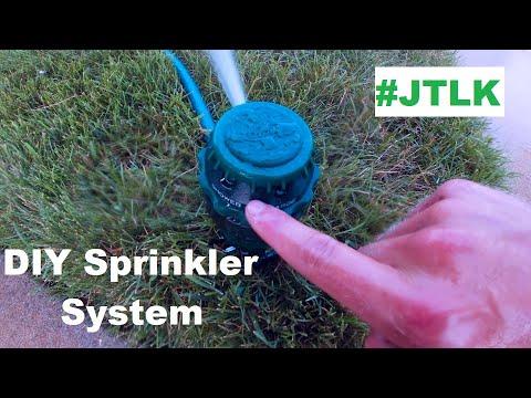 DIY Sprinkler System For Lawns | Lawn Irrigation