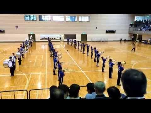 2015-08-21 山梨県マーチングコンテスト 塩山中学校