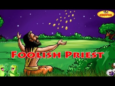 Foolish Priest || English Moral Story For Kids