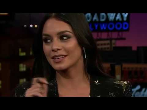 Vanessa Hudgens on The Late Late Show with James Corden - March 16th [FULL]