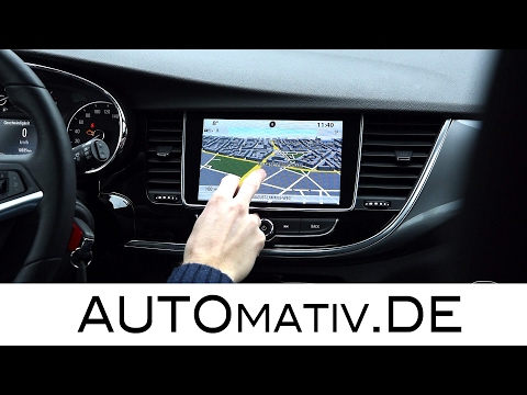 Tech-Check Infotainment Opel Mokka X / Astra (2017): Test Multimedia-, Navigationssystem im Detail