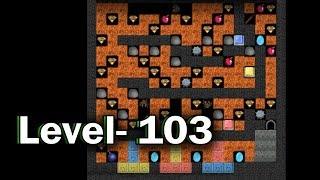 Diamond mine level 103 collected all 30 diamonds