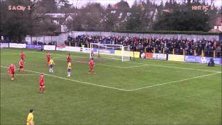 preview picture of video 'St Albans City v Hemel Hempstead Town, 2014/15'