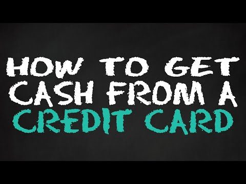 HOW TO GET CASH FROM A CREDIT CARD - AVOID THIS EXPENSIVE MISTAKE!