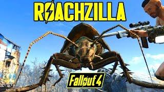 Fallout 4 - ROACHZILLA BOSS - Legendary Bosses & Hard Legendary Giant Creatures MOD - XB1 PC