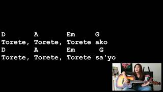 Torete - Moonstar88 [Lyrics And Chords] Guitar Tutorial