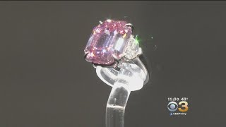 Harry Winston Pays $50 Million For Pink Legacy Diamond At Auction