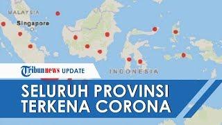 Seluruh Provinsi di Indonesia Kini Telah Terpapar Covid-19 setelah Gorontalo Umumkan Kasus Pertama